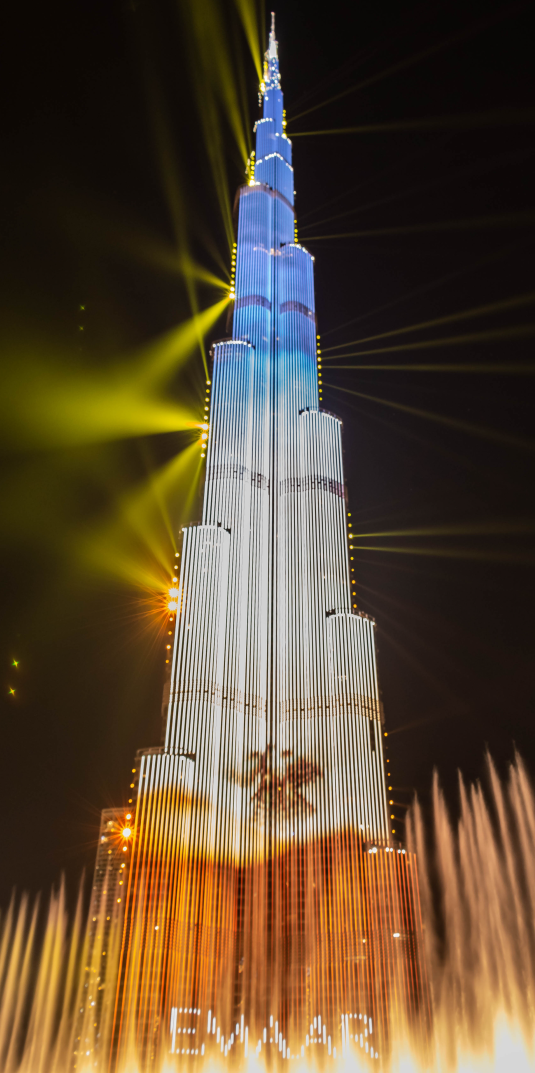 film production for burj khalifa